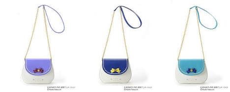 Sailor Scout Handbags - The Baby G x Samantha Vega Bags Convey the Different Character Personalities