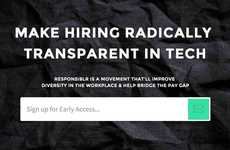 Bias-Eliminating Hiring Platforms - Responsiblr Aims to Close the Pay Gap and Diversify Workplaces