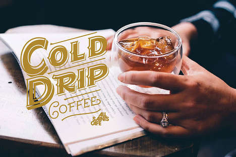 Cold Brew Cafe Branding - Cold Drip Coffee is the Product of a Quaint Cafe in Buenos Aires