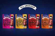 American Cooking Sauce Branding - Homepride All American is a Range of Culinary Sauces