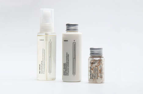 Shame-Free Healthcare Packaging - Noskam is a Healthcare Brand Concept Created by a Student