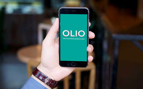 Local Food Donation Apps - The 'Olio' App Helps Independent Grocers Share Surplus Food Products