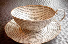 Repurposed Paper Pottery
