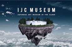 "Cloud-Based Art Museums - 'IJC' is an Online Art Museum That Showcases ""Cool Japan"""
