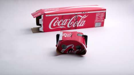 Recycled Virtual Reality Viewers - Coca-Cola Provides 3 Hands-On Options for Eco-Conscious Techies