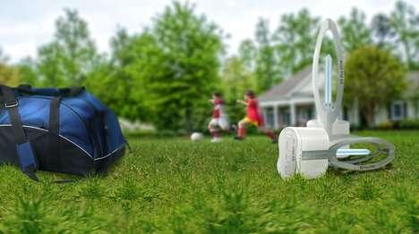 Sanitizing Shoe Cleaners - The UV Pro Shoe Sanitizer Kills 99.99% of Odor-Causing Bacteria