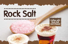 Salty Chilled Floats - Rock Salts are a Key Ingredient in Happy Lemon's 'Salted Cheese' Beverages