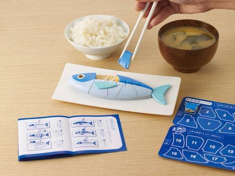 Chopstick-Teaching Toys - The Manners Fish Chopstick Training Toy Teaches Children to Eat Well