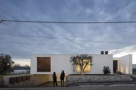 Minimalist Portuguese Homes - The Casa Dos Claros is Full of Simple Geometric Details
