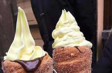 Donut Ice Cream Cones - These Czech Pastry Cones are Changing the Way People Eat Ice Cream