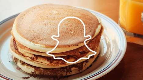 Fast Casual Snapchat Filters - An IHOP Snapchat Partnership Will See In-Restaurant Geofilters