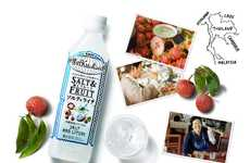 Sweet Sodium-Infused Drinks - The Kirin World Kitchen Salt & Fruit Beverage Blends Lychee and Sodium