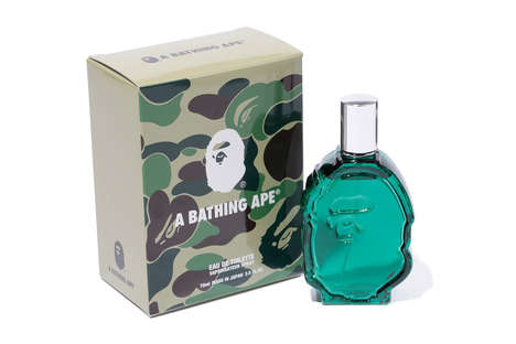 Iconic Streetwear Fragrances - The BAPE Fragrance is a First for the Japanese Clothing Brand