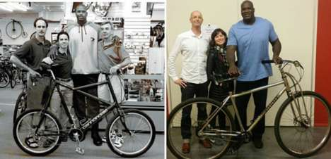 Gigantic Ergonomic Bicycles - These Large Bicycles Are Designed For Exceptionally Tall Cyclists