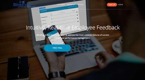 Live Employee-Evaluating Platforms - BlinkEval Makes Giving Performance Feedback More Timely