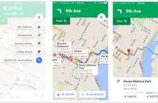 Pit Stop GPS Platforms - Google Maps for iOS Allows Drivers to Make Stops While En Route