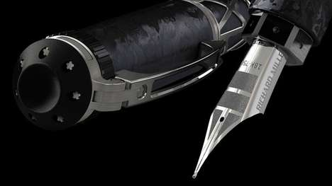 Precise Fountain Pens - The Richard Mille RMS05 Uses a Swiss Movement For Smooth Movements