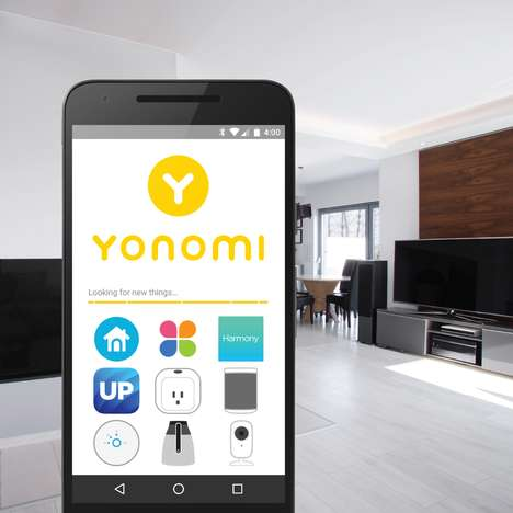 Communicative Smart Home Apps - The Yonomi App Lets You Control Connected Home Technologies