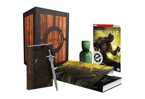 Gaming Artifact Packages - The Dark Souls III Game Guide Comes Packed with a Game Replica