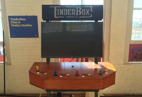 Indie Video Game Consoles - The 'TinderBox' Gaming System Allows Local Games to be Played