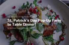 Irish-Inspired Pop-Up Restaurants - This Culinary Event Celebrates St. Patrick's Day in Chicago