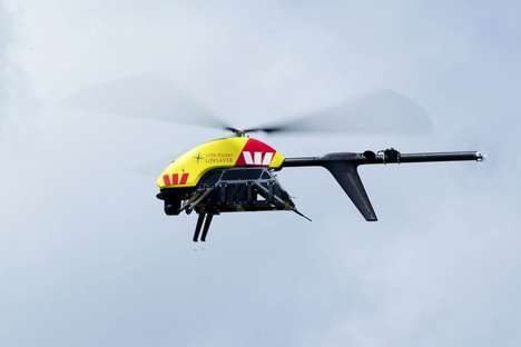 Shark-Detecting Drones - The 'Little Ripper' Shark Warning Drone will Ensure Safety in Australia
