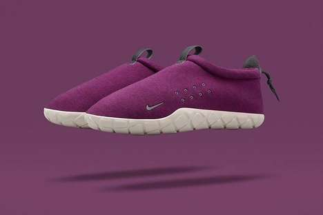 Slipper-Like Trainers - The Nike AIr Moc Fleece is a Slipper You Can Wear Outdoors