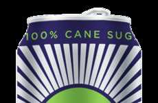 Cane Sugar Energy Drinks - The 'SOCKO' Energy Drink Brand Focuses on Naturally Stimulating Drinks