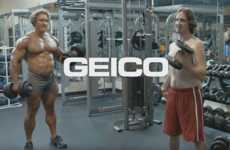 Male-Targeted Insurance Ads - This Geico Insurance Ad Uses 'Brocabulary' to Speak to Bros