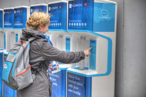 Water Purification Stations - These Refill Stations Provide a Solution to Flint's Water Crisis