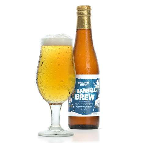 Protein-Enriched Beers - This High-Protein Beer is Designed for Health-Conscious Beer Drinkers