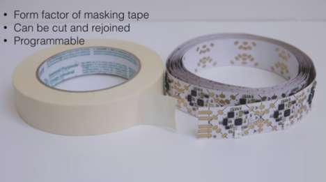 High-Tech Duct Tape - These Researchers Have Designed Tape Embedded with Electrical Circuits