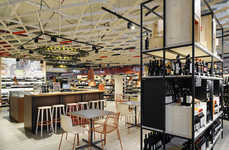 In-Store Tasting Lounges - La Cantina is an Italian Retail Concept with Immersive Tasting Options