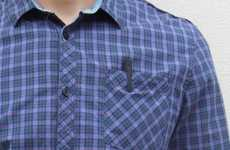 Discreet Shirt Pocket Cameras