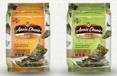Organic Seaweed Snacks - These Seaweed Crisps from Annie Chun's are a Salty Snack Option