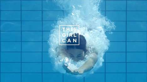 Female-Empowering Fitness Campaigns - This Girl Can is a Powerful Campaign by Sport England