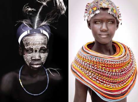 African Nomad Portraits - German Photographer Mario Gerth Captures Striking Tribal Images