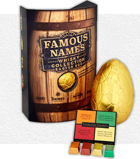 Boozy Easter Eggs - Elizabeth Shaw's Chocolate Easter Egg is Paired with Liqueur Chocolates