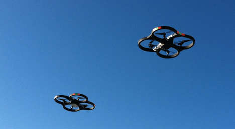 Contraceptives Delivery Drones - Long-Flying UAVs are Being Used to Prevent Unwanted Pregnancies