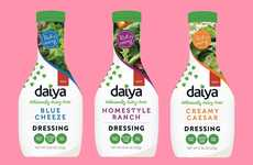 Dairy-Free Salad Dressings - Daiya Releases a Line of Vegan Dressings Inspired by Traditional Flavor