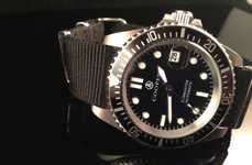 Affordable Aquatic Timepieces - The Cooper Submaster Military Divers Watch is Masculine and Chic