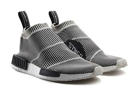 Futuristic Sock Sneakers - The City Sock by Adidas Offers a Slip-on Fitted Wear