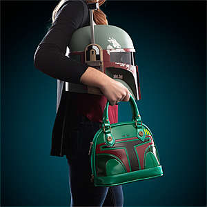 Galactic Bounty Hunter Totes - This Stylish Vinyl Purse is Modeled After the Boba Fett Costume