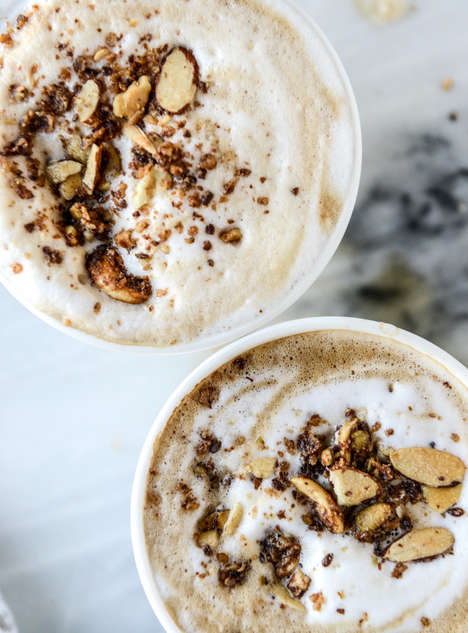 Oatmeal Latte Recipes - The How Sweet It Is Homemade Breakfast Latte Combines Coffee and Porridge