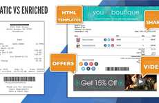 Electronic Receipt Engagement - Startup FlexReceipts Uses Digital Receipts as a Marketing Platform