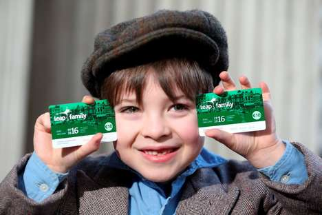 Commemorative Travel Cards - Dublin's 1916 Leap Card Gives Families an Unlimited City Transit Pass