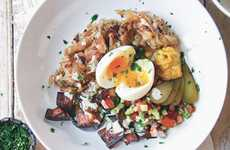 Israeli Breakfast Bowl Recipes - This Delicious Sabich Breakfast Dish is Sure to Satisfy