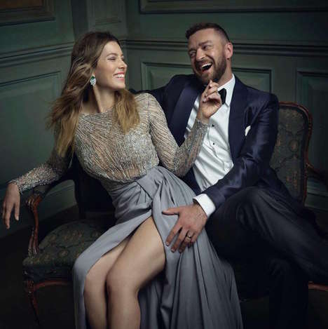 Impromptu Award Show Portraits - Mark Seliger Captures a Candid Side at Vanity Fair's Oscar Party