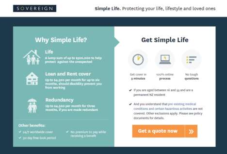 Millennial-Targeted Insurance Plans - Sovereign Offers Life Insurance Plans for Young Consumers