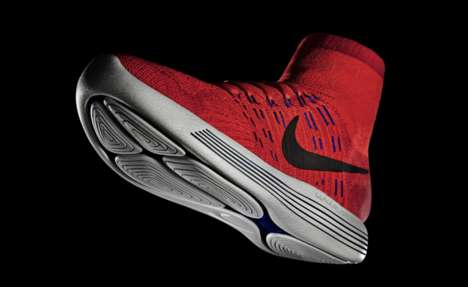 Revolutionary Running Shoes - The Nike LunarEpic Flyknit Drastically Rethinks the Collar and Sole